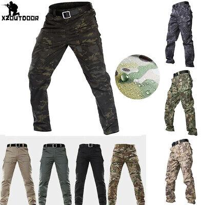 TYPHON Outdoor Military Urban Waterproof Tactical Pants Combat Cargo Resistant