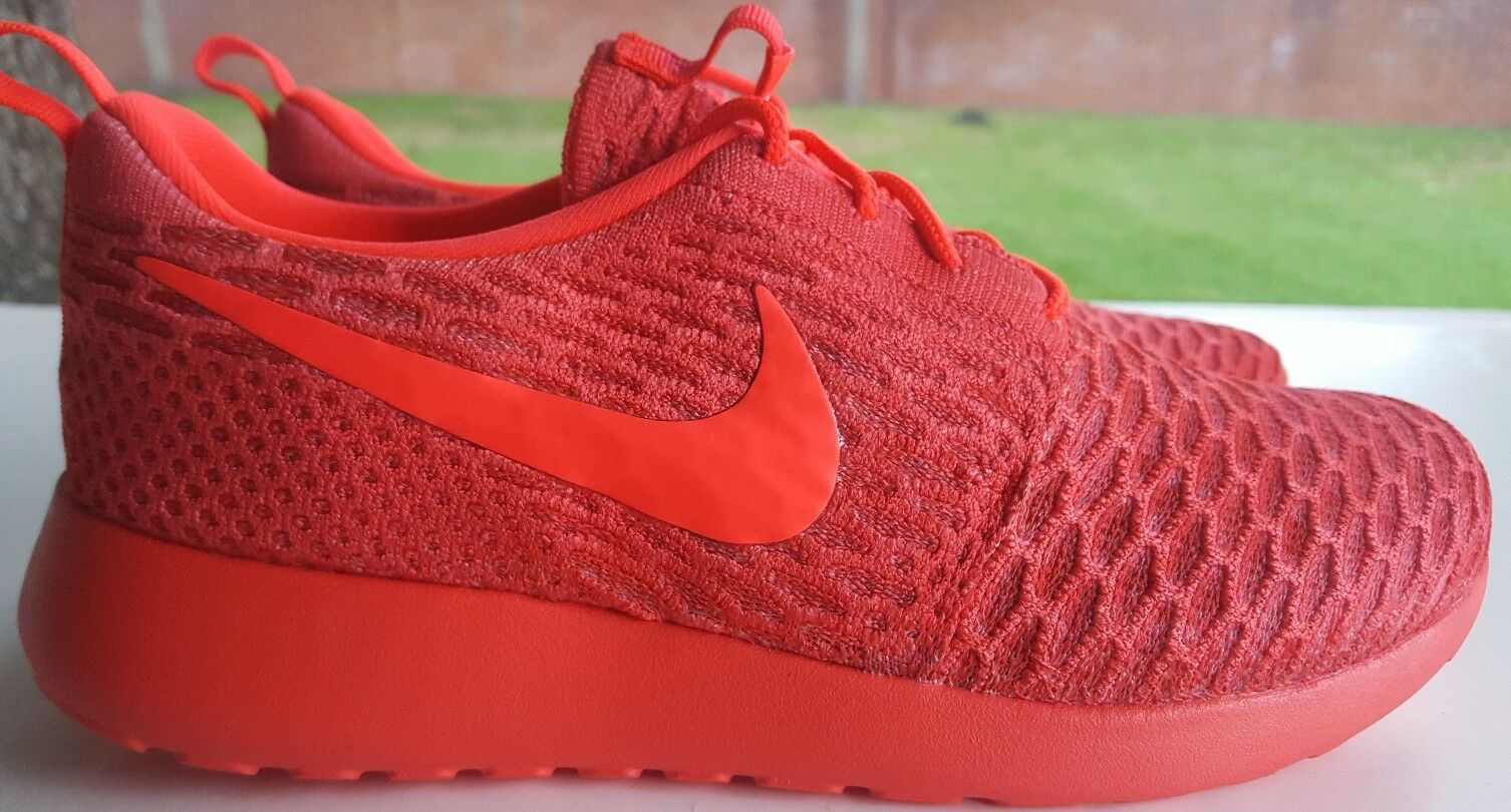NIKE ROSHE ONE FLYKNIT ID SIZE 7 777415-978 Brand discount