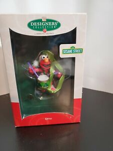 American-Greetings-SESAME-STREET-ELMO-ORNAMENT-Designer-s-Collection-Christmas