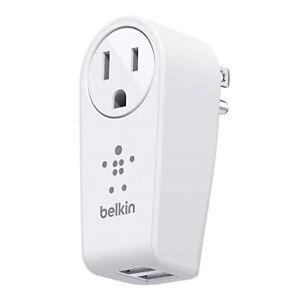 Belkin-2-port-USB-Swivel-Charger-Outlet