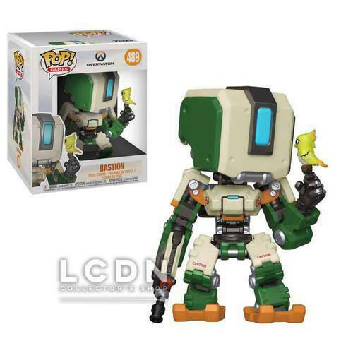 Games Bastion Big Size Vinyl Figure 15cm n°489 FUNKO Overwatch POP