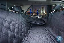 Bulldogology Premium Dog Car Seat Covers - Hammock Waterproof Seat Covers for Ca