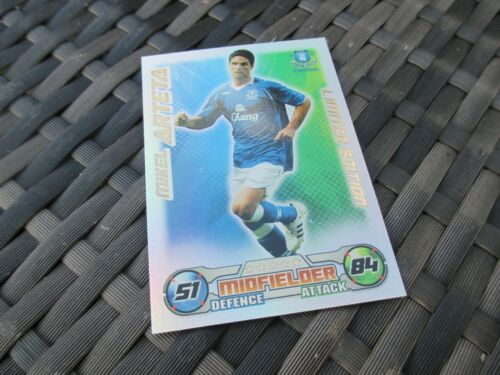 Match Attax Attack 2008//09 08//09 Mikel Arteta Limited Edition Card