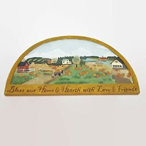 Russ-Berrie-Harvest-Homecoming-Home-amp-Hearth-Resin-Plaque