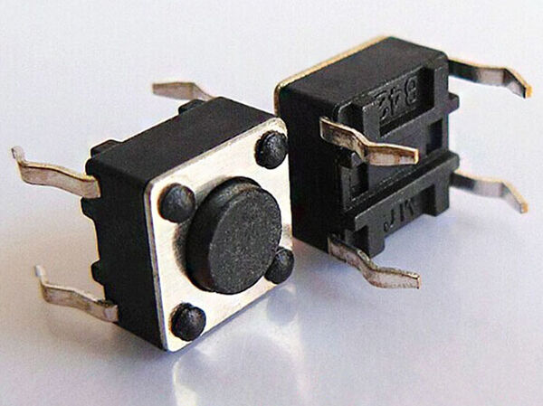 10Pcs Miniature Micro Switch PCB Momentary Tactile Tact Switch Button 6x6x4.5 mm