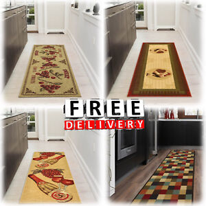 Hallway-Rug-Runners-20x59-034-Kitchen-Area-Carpet-Non-Slip-Rubber-Long-Floor-Mat