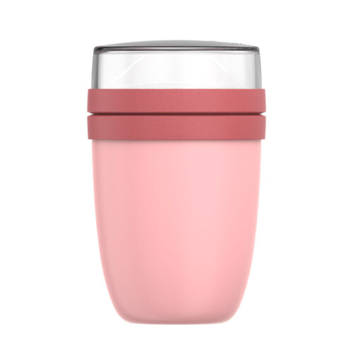 Mepal Thermo lunchpot Ellipse placement-gamelle avec 2 récipients Nordic Pink
