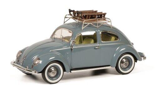 VW Käfer mit Schlitten Schuco 02709-1//43 Volkswagen Neu