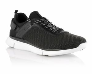 2f0f0b2b2b7 Sale HUGO BOSS GREEN GYM TWIST 50286019 001 Mens Trainers Black RRP ...