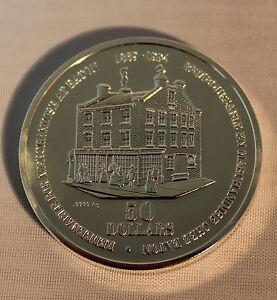 1994-Eaton-125-50-Commemorative-Medallion-9999-Pure-Silver-OOAK-NO-TAX