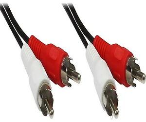 Cinch-Kabel-Anschluss-RCA-Stecker-Chinch-AUX-Anschlusskabel-Cinchkabel-stereo