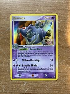 Dusclops-17-100-Rare-Holo-NM-Stamped-Ex-Crystal-Guardians-Pokemon