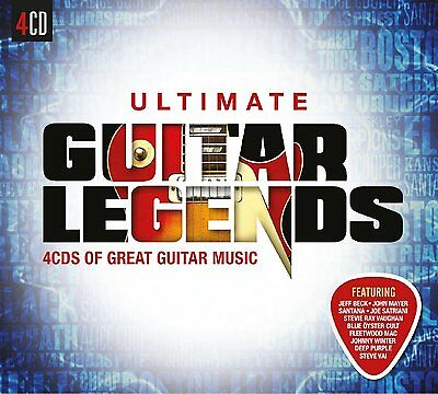 VARIOUS ARTISTS - ULTIMATE GUITAR LEGENDS: 4CD ALBUM BOX SET (January 8th 2016)