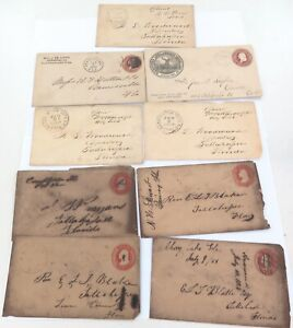 9-x-1850s-1860s-1880s-USA-AMERICAN-COVERS