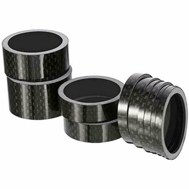 Carbon spacer Stem Spacer1-1//8 inch 4 pcs of 10mm//15mm//20mm Headset Spacers