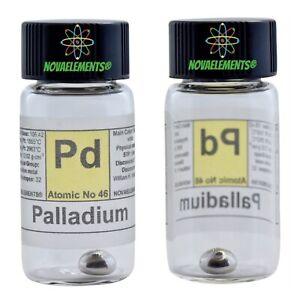 Palladium-Metal-Element-46-Sample-0-5-Grams-99-99-in-Labeled-Glass-Vial