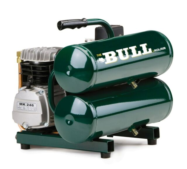 """NEW ROLAIR FC2002 2 HP """"THE BULL"""" Air Compressor (Authorized Dealer)"""