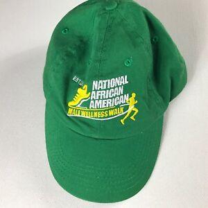 National-African-American-Strapback-Hat-Male-Wellness-Walk-Cap-Mens-One-Size