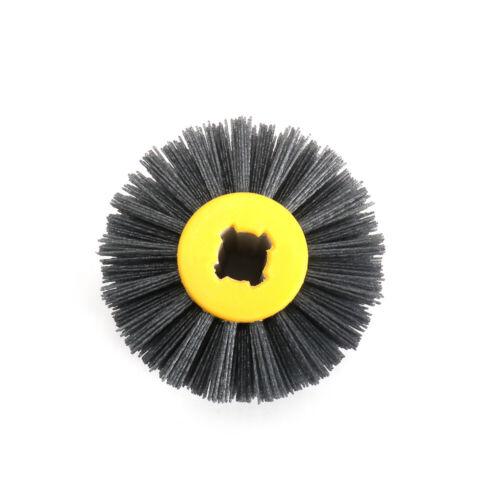 "120mm Nylon Abrasive Wire Polishing Drawing Brush Wheel for Metal Wood 4//5/"" Hole"