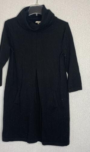 Tyler Boe Womens Size Small Black Sweater Dress