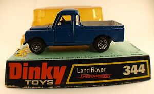 Dinky Toys Gb N ° 344 Land Rover Pick Up En Boite