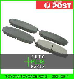 Fits-TOYOTA-TOYOACE-RZY2-2001-2011-Pad-Kit-Disc-Brake-Front