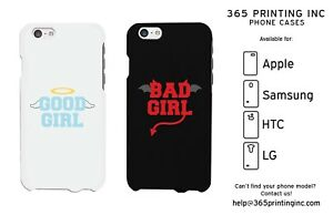 designer fashion af2f4 eb60d Details about Good Girl Bad Girl Matching Phone Cases iphone 4-6+, Galaxy  S3-6, NOTE 4, M8, G3