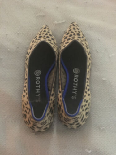 Rothys Size 7.5 Leopard Point