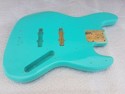 Ausdauernd Custom Seafoam Green J Bass Body - Made In Usa