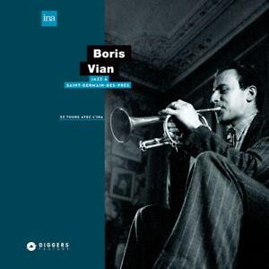 Boris-Vian-Jazz-a-Saint-Germain-du-DES-PRES-vinyle-LP-2020-UE-original