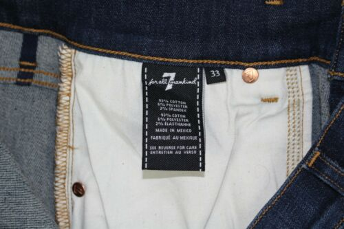 New 7 For All Mankind Mens Luxe Sport Ryley 32 or 33 Authentic Hiatus AT0175052P