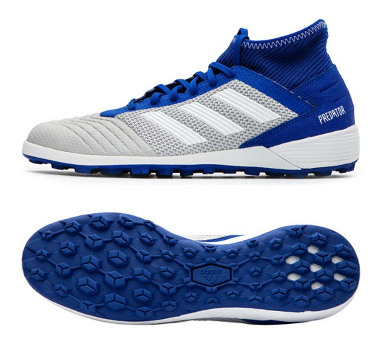 Adidas Men Protator 19.3 TF Cleats Futsal Blau Soccer schuhe Stiefel Spike BC0555