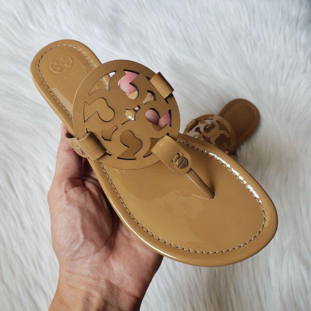 Tory Burch Womens Miller Sandal Patent