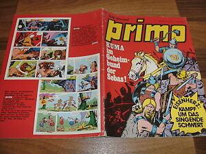 PRIMO-6-1974-Rolf-Kauka-Kuma-Mischa-Marcus-M-Mueller-Prinz-Eisenherz