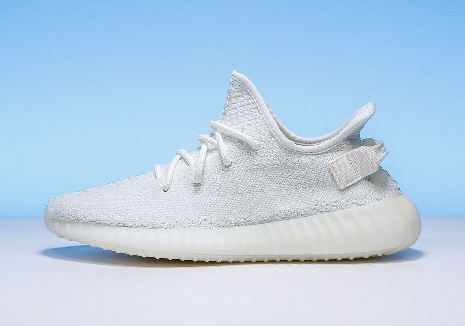 Adidas YEEZY BOOST 350 V2 CREAM WHITE CREAM WHITE, Men's Size 9.5