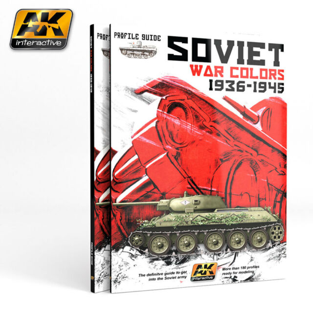 AK Interactive Book SOVIET WAR COLORS PROFILE GUIDE AKBOOK270