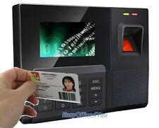 Sistema de Asistencia Biométrico de huellas dactilares español Hora Check In/Out