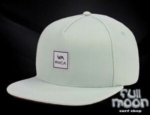 on sale 6808e d3973 Image is loading New-RVCA-Ensign-Mens-Snapback-Cap-Hat