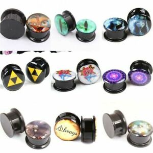 Ear-Ear-Expansion-Tube-Gift-Ear-Gauges-Plugs-Tunnel-Stretching-Acrylic-Enlarge