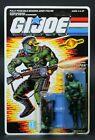Gi Joe 1989 Cobra Night Viper Figure V1 Officer Trooper Army Builder Vintage