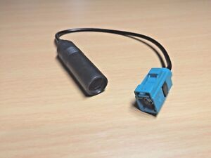 Car-Radio-Aerial-Antenna-Adapter-Cable-Fakra-To-Female-Din-For-VW-Volkswagen