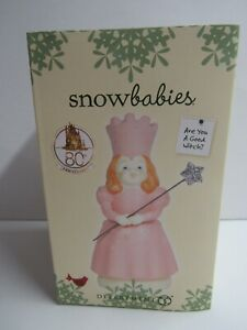 Dept 56 Snowbabies Wizard Of Oz Are You A Good Witch? 6003522