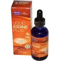 Iodine Supplement Plus Potassium Iodide Liquid Extract Drops Better Than Pills