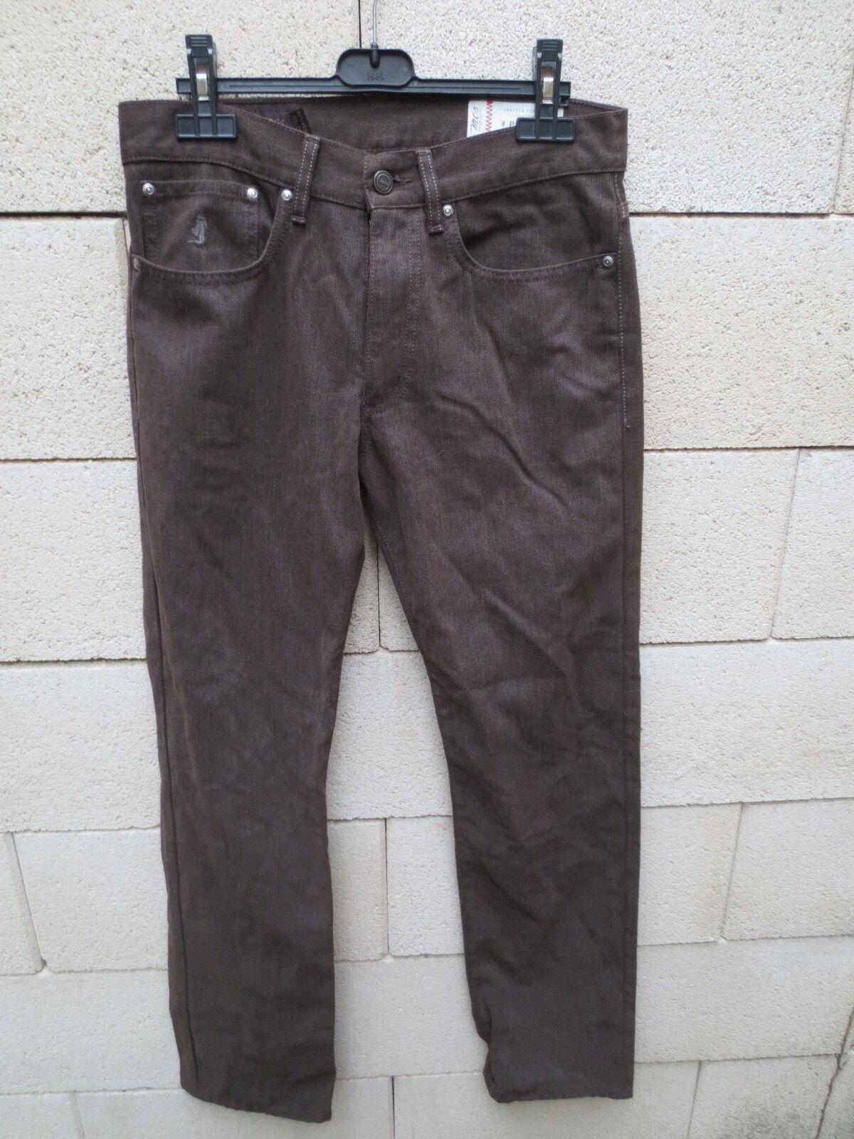 Jeans MCS MARLBgold CLASSICS Phoenix regular fit brown pantalon W29 L32