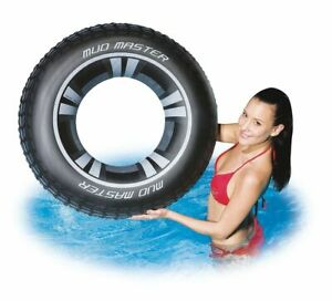 36 Quot Large Inflatable Tyre Swim Ring Adults Older Children
