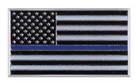 Support Police Blue Lives Matter Thin Blue Line Flag Uniform Shirt Hat Lapel Pin on sale