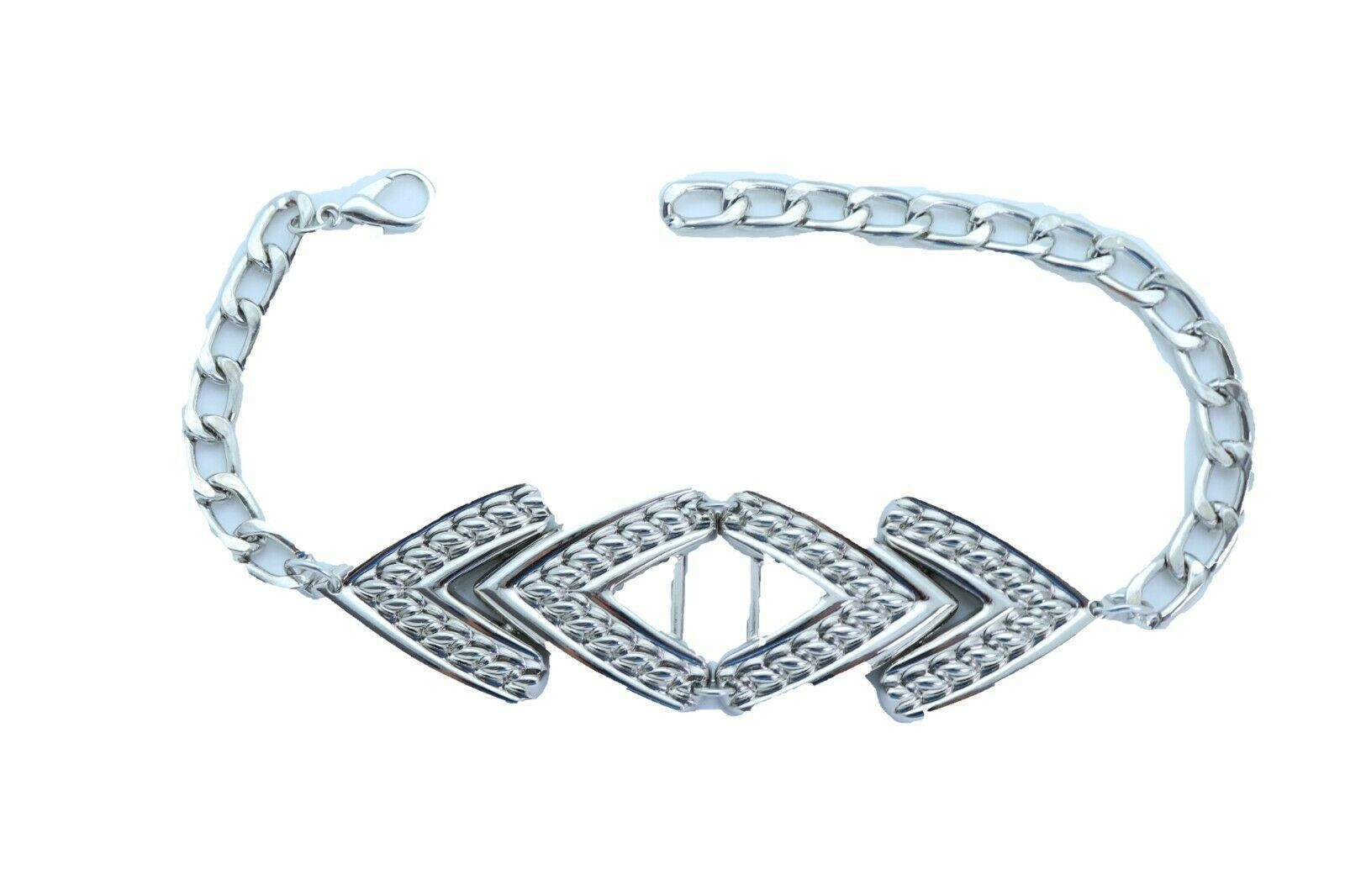 Sexy Women Silver Metal Chain Boot Bracelet Anklet Shoe Arrow Band Charm Jewelry