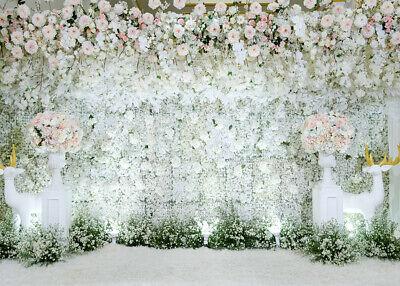Photography Studio Props Backdrop Indoor Flowers Wall Photo Background Ebay