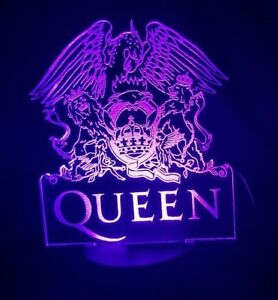 Queen-Acrylic-Engraved-LED-lamp