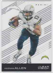 2015 PANINI CLEAR VISION KEENAN ALLEN SAN DIEGO CHARGERS #17